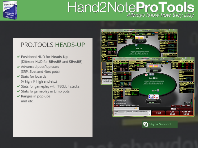 Hand2Note ProTools Heads-Up